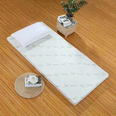 针织海绵床垫小床床垫 90*190cm 5CM厚竹纤维