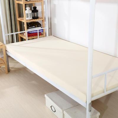 针织海绵床垫小床床垫 90*190cm 8CM厚竹纤维