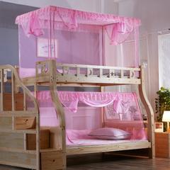 尚莎  2018年3款子母床上下铺蚊帐-1803 上铺0.9*1.9 1803红