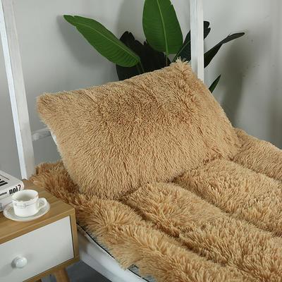 长毛绒床垫学生床垫 90X200 cm 枕套:一只(可配对应花色)单拍不发