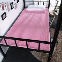 2018新款贝贝绒学生床垫(5cm厚) 90*190cm(5cm厚) 粉色