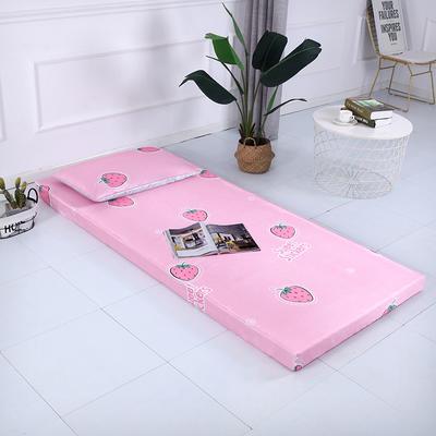 2019新款可拆洗冰丝床垫厚度8cm 枕套/只48*74cm 草莓