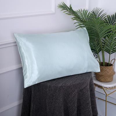 2019新款冰丝枕套 40*60cm 薄荷绿