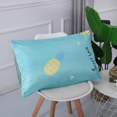 2019新款冰丝枕套 40*60cm 菠萝