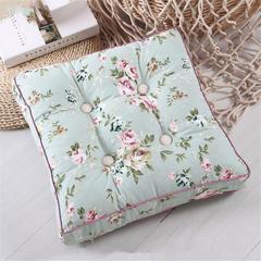 帆布坐垫(可拆洗)学生椅垫坐垫时尚印花坐垫 小号 绿野仙踪