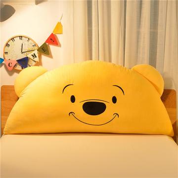 绣花卡通大靠垫 床头靠垫榻榻米软包 床上大抱枕
