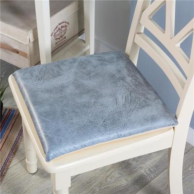 皮感记忆棉坐垫 沙发榻榻米慢回弹防水防滑座垫办公室可拆洗椅垫 40*40记忆棉 大象皮