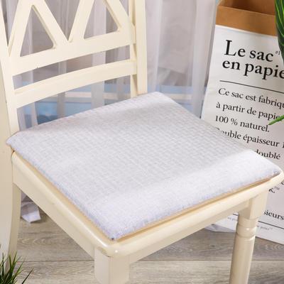 坐垫-硬质棉坐垫 记忆棉坐垫椅垫 学生办公室电脑椅餐椅垫子 40X40cm 深灰色