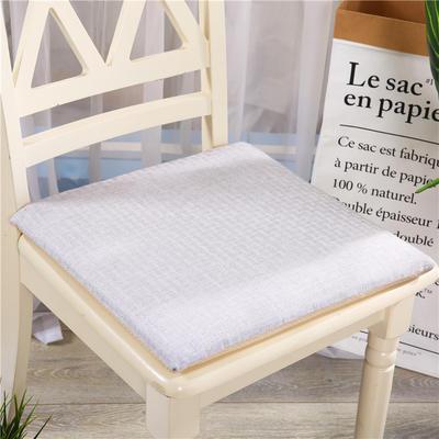 重磅麻坐垫-棉麻亚麻椅垫榻榻米坐垫 学生电脑椅垫餐椅垫子 40*40cm 银灰色