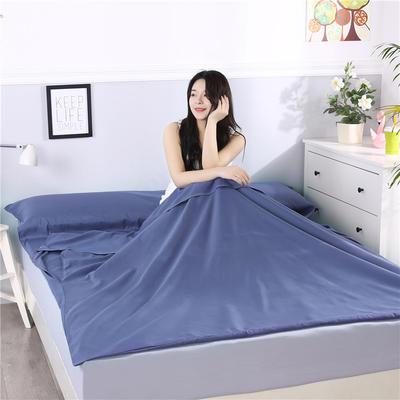2019新款-跑量款睡袋 隔脏睡袋 成人宾馆酒店旅行睡袋一次性 80*210色青
