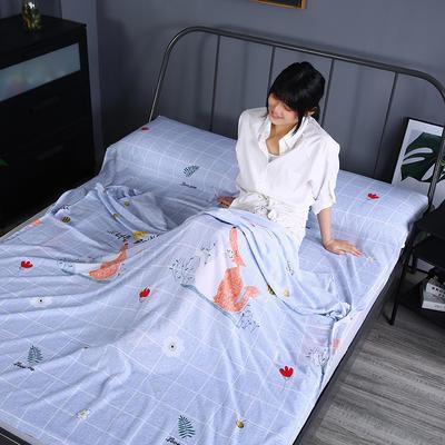 2019新款-水洗棉旅行隔脏睡袋 宾馆酒店便携式成人睡袋 爱恋160*210