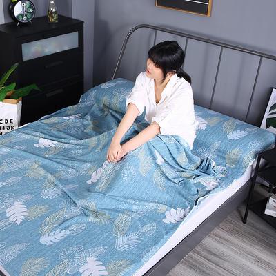 2019新款-水洗棉旅行隔脏睡袋 宾馆酒店便携式成人睡袋 春晓160*210