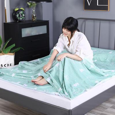 2019新款-水洗棉旅行隔脏睡袋 宾馆酒店便携式成人睡袋 喵趣160*210