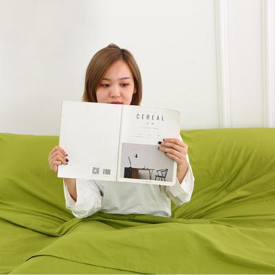 2020新款-13372全棉旅行睡袋 成人酒店宾馆隔脏睡袋 全棉 豆绿120*210