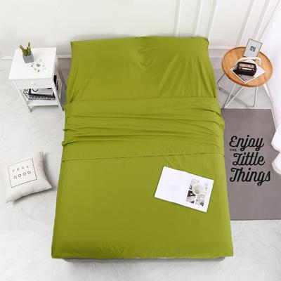 2020新款-13372全棉旅行睡袋 成人酒店宾馆隔脏睡袋 全棉 豆绿160*210