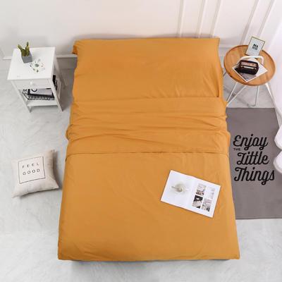 2020新款-13372全棉旅行睡袋 成人酒店宾馆隔脏睡袋 全棉 姜黄160*210