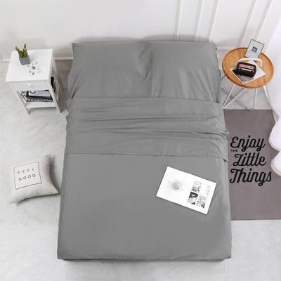 2020新款-13372全棉旅行睡袋 成人酒店宾馆隔脏睡袋 全棉 深灰160*210