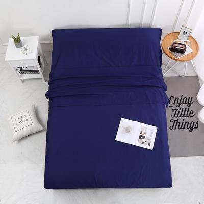2020新款-13372全棉旅行睡袋 成人酒店宾馆隔脏睡袋 全棉 深蓝160*210