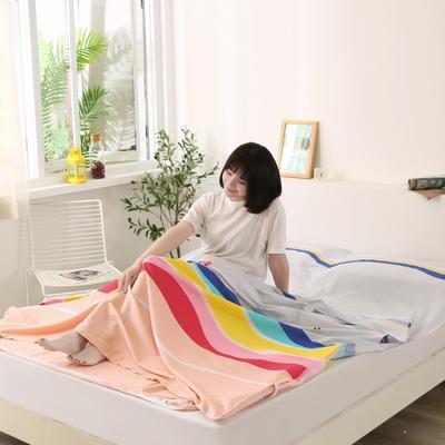 2020新款全棉隔脏睡袋 酒店宾馆旅游成人旅行睡袋 180*210五彩童话