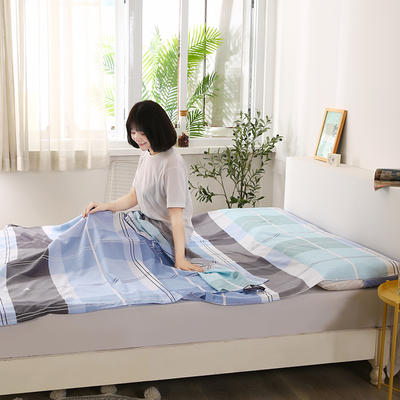 2020新款全棉隔脏睡袋 酒店宾馆旅游成人旅行睡袋 200*210摩萨之旅