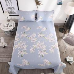 纯棉床盖,床盖三件套 单件枕套47*74*2 琉璃花语