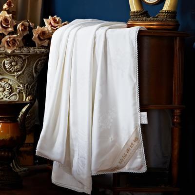2017 新款莫代尔蚕丝被(夏季款-促销) 200X230cm 白色
