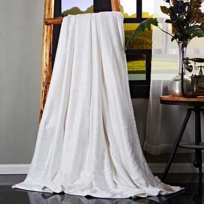 2017 新款莫代尔蚕丝被(冬款夏被-促销) 200X230cm 白色