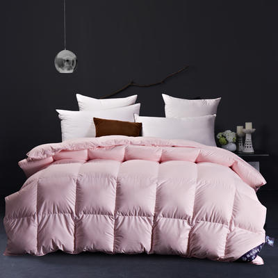 促销羽绒被(56格-粉色) 标准 粉色