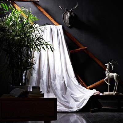 全棉提花蚕丝被(纯蚕丝桑蚕丝,特级双宫桑丝) 150*200cm 白色