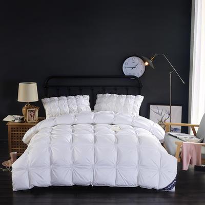 富旺-法式臻品面包羽绒被(90%白鸭绒) 200X230cm 白色