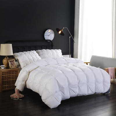 富旺-法式臻品面包羽绒被(90%白鹅绒) 200X230cm 白色