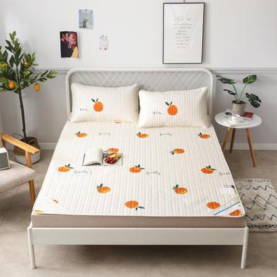 2019新款天丝软席三件套 1.5*2.0(三件套) 橙子  米
