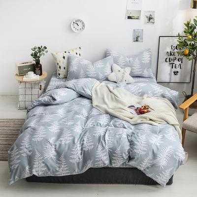 2019新款四件套 2.0m(6.6英尺)床 优雅生活