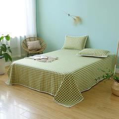 亚麻细纱凉席三件套(总) 1.8m(6英尺)床 清雅绿