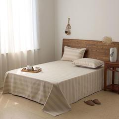 亚麻细纱凉席三件套(总) 1.5m(5英尺)床 极光咖