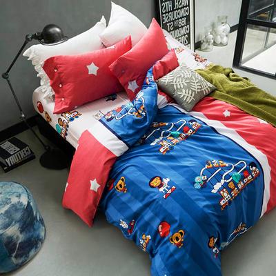 2018款60S长绒棉专版四件套 标准 名古屋-游园