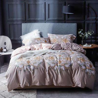 长绒棉系列四件套 标准(1.5m-1.8m床) 艾德堡 只剩标准