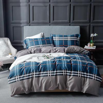 长绒棉系列四件套 标准(1.5m-1.8m床) 格调非凡 只剩标准