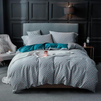 长绒棉系列四件套 标准(1.5m-1.8m床) 杰罗琳