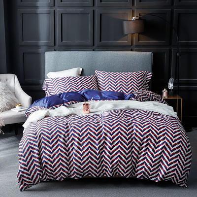 长绒棉系列四件套 标准(1.5m-1.8m床) 丽卡