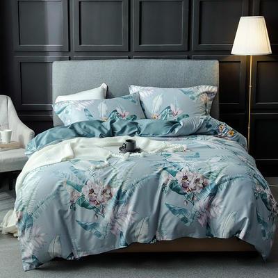 长绒棉系列四件套 标准(1.5m-1.8m床) 莫妮卡