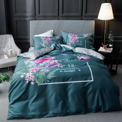 长绒棉系列四件套 标准(1.5m-1.8m床) 香奈空间