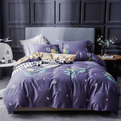 长绒棉系列四件套 标准(1.5m-1.8m床) 向日葵 只剩标准