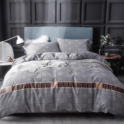 长绒棉系列四件套 标准(1.5m-1.8m床) 亚尔