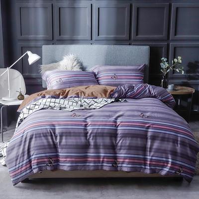 长绒棉系列四件套 标准(1.5m-1.8m床) 英格兰 只剩标准