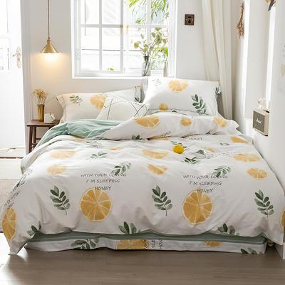 2019款40支匹马棉 清新小时光系列 1.5m(5英尺)床 香橙满园