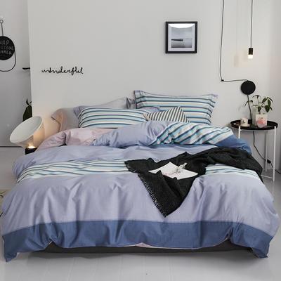 2019款40支匹马棉 青春条格系列 1.5m(5英尺)床 简序