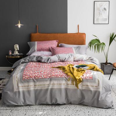 2019款40支匹马棉 网红大版系列 1.5m(5英尺)床 贝拉美 灰