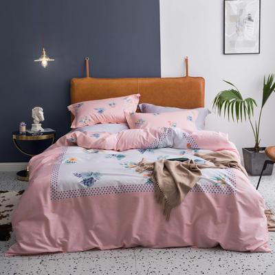 2019款40支匹马棉 网红大版系列 2.0m(6.6英尺)床 秘密花境