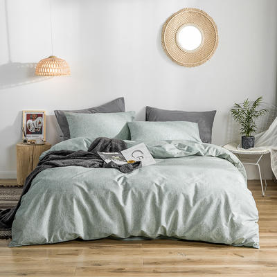 2019款40支匹马棉 减法系列 1.5m(5英尺)床 诺曼底 绿肌